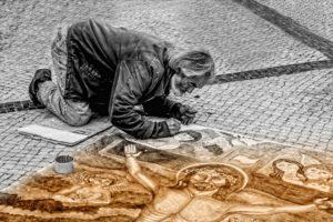 Artistas que conviven con los síntomas residuales de la depresión. Artistas Post-Depresión